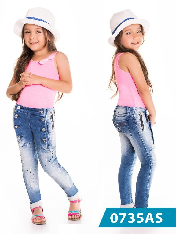 Jeans Infantil Asi Sea - Ref. 124 -0735 AS