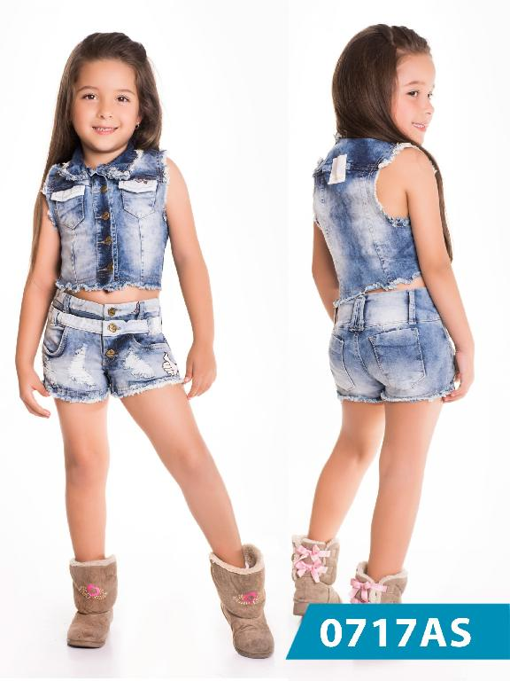 Conjunto Infantil Asi Sea - Ref. 124 -0717 AS