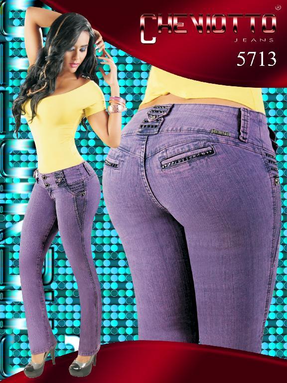 Jeans Women Fashion Cheviotto - Ref. 101 -5713