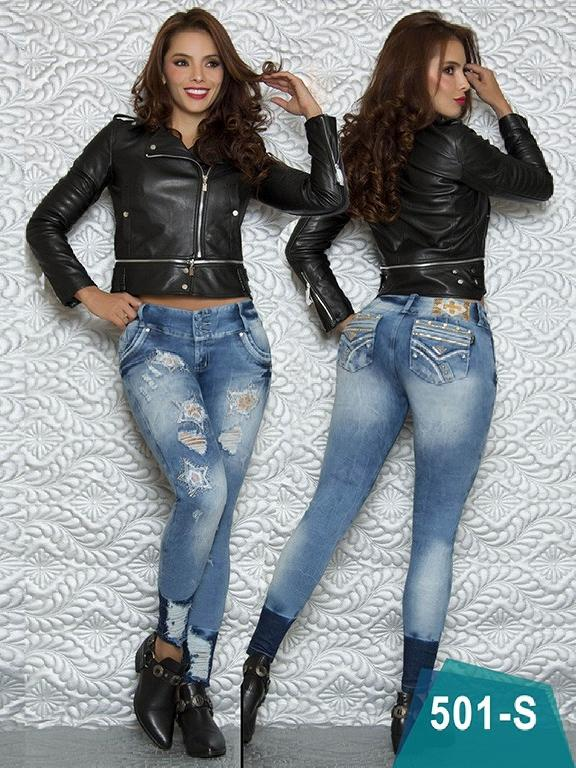 Jeans Levantacola Colombiano Duches  - Ref. 237 -501 S