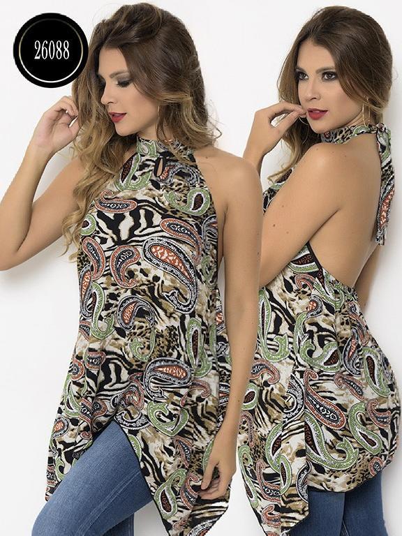 Blusa Moda Colombiana Cereza - Ref. 111 -26088