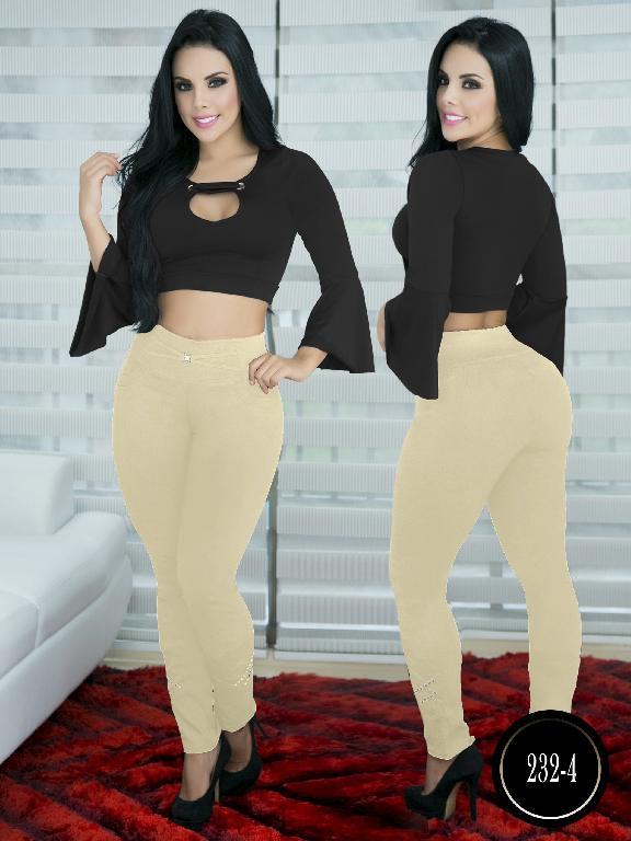 Pantalon Casual Comfort Thaxx - Ref. 119 -232-4 Beige