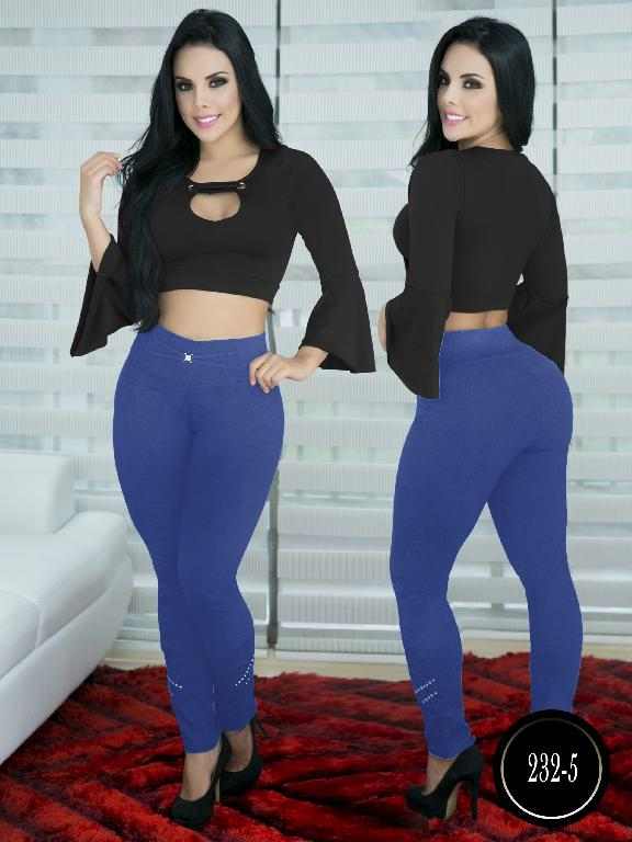 Pantalon Casual Comfort Thaxx - Ref. 119 -232-5 Azul