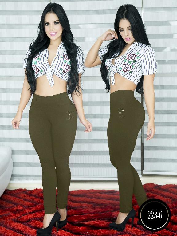Pantalon Casual Comfort Thaxx - Ref. 119 -223-6 Verde