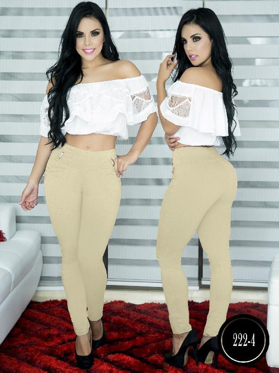 Pantalon Casual Comfort Thaxx - Ref. 119 -222-4 Beige