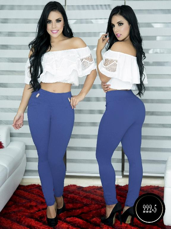 Pantalon Casual Comfort Thaxx - Ref. 119 -222-5  Azul