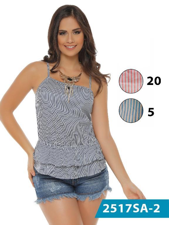 Blusas Moda Colombiana Solo Amor  - Ref. 246 -2517-20 Rosado