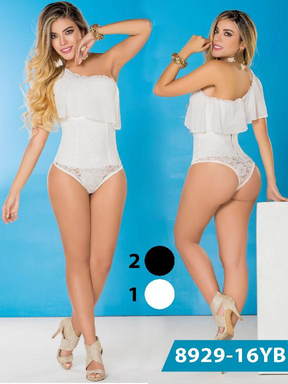 Body Reductor Colombiano Yes Brazil - Ref. 113 -8929-1 Blanco
