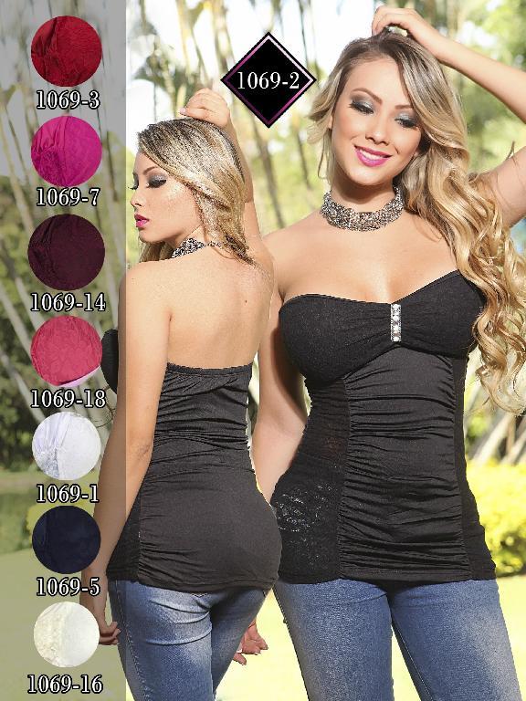 Blusa Moda Fuxia Blanco - Ref. 240 -1069 Blanco