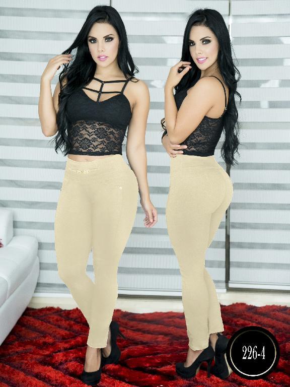 Pantalon Casual Comfort Thaxx - Ref. 119 -226-4 Beige