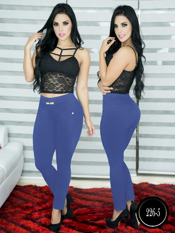 Pantalon Casual Comfort Thaxx - Ref. 119 -226-5 Azul