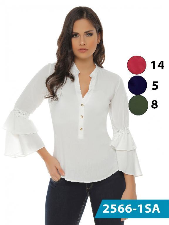 Blusa Moda Colombiana Solo Amor  - Ref. 246 -2566-8 Verde