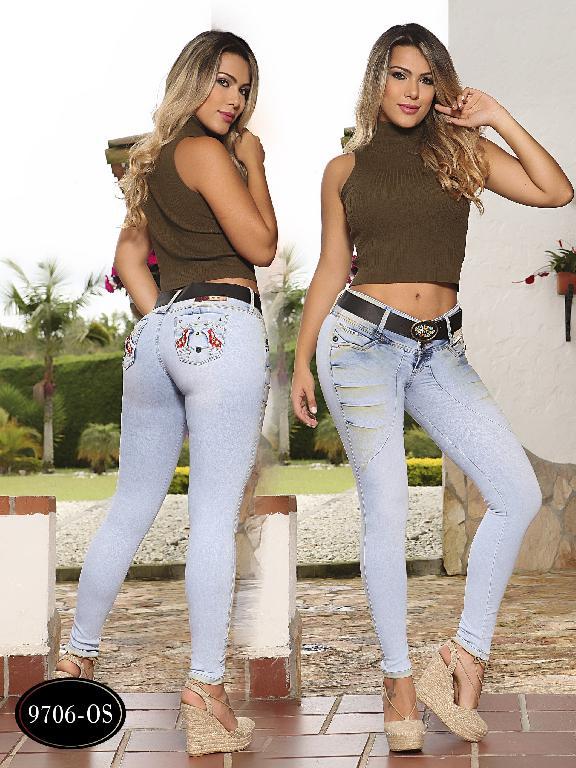 Jeans Levantacola Colombiano Osheas - Ref. 103 -9706 OS