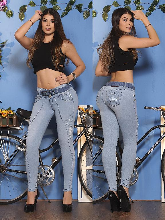Jeans Levantacola Colombiano Osheas - Ref. 103 -9712 OS