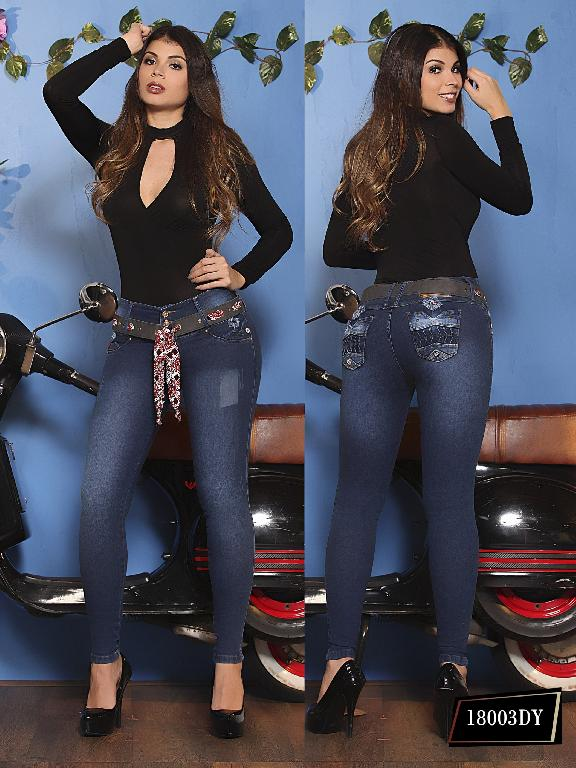 Jeans Levantacola Colombiano Dinasty - Ref. 249 -18003 DY