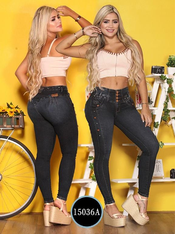 Jeans Levantacola Colombiano Ambar  - Ref. 234 -15036 A