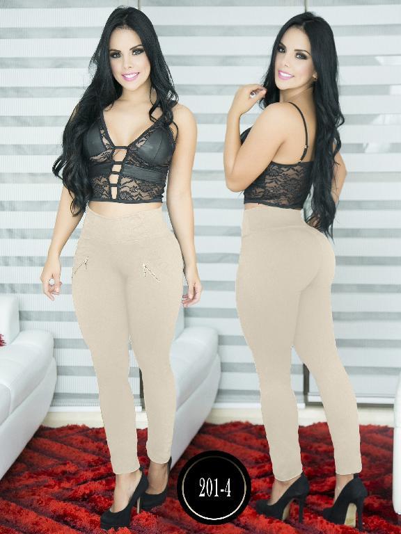 Pantalon Casual Comfort Thaxx - Ref. 119 -201-4 Beige
