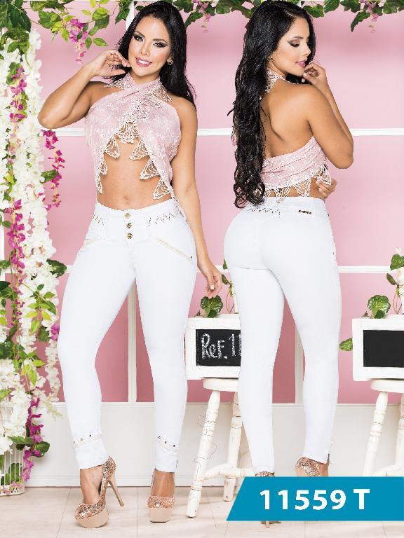 Jeans Levantacola Colombiano Tabbachi  - Ref. 101 -11559 T