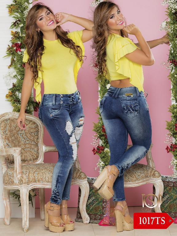 Jeans Levantacola Colombiano Top Symbol  - Ref. 251 -1017 TS