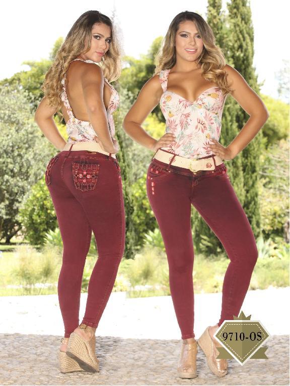 Jeans Levantacola Colombiano Osheas  - Ref. 103 -9710 OS