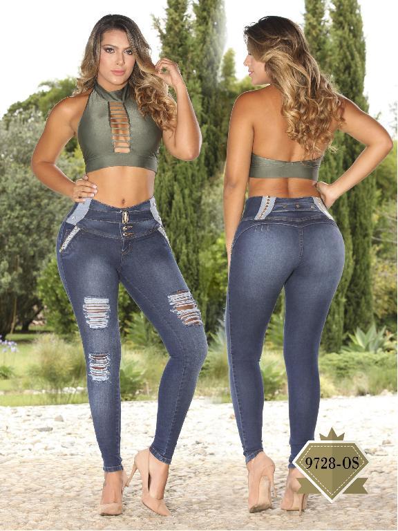 Jeans Levantacola Colombiano Osheas - Ref. 103 -9728OS