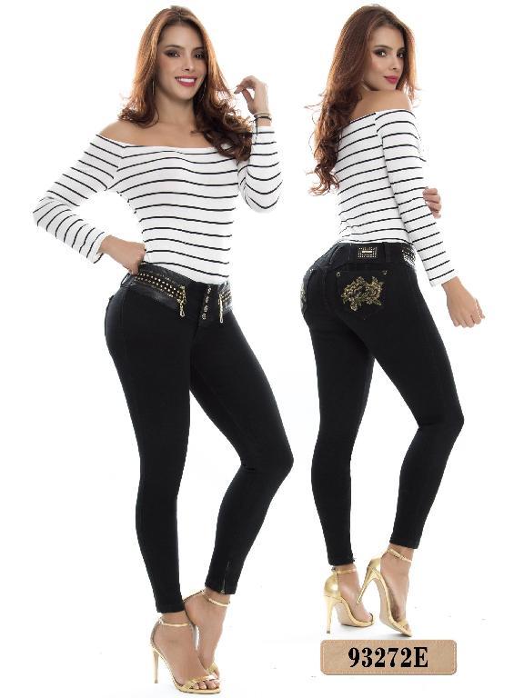 Jeans Levantacola Colombiano Ene2 - Ref. 243 -93272 E