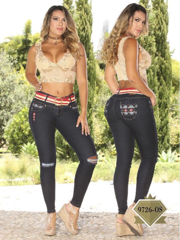 Jeans Levantacola Colombiano Osheas  - Ref. 103 -9726 OS
