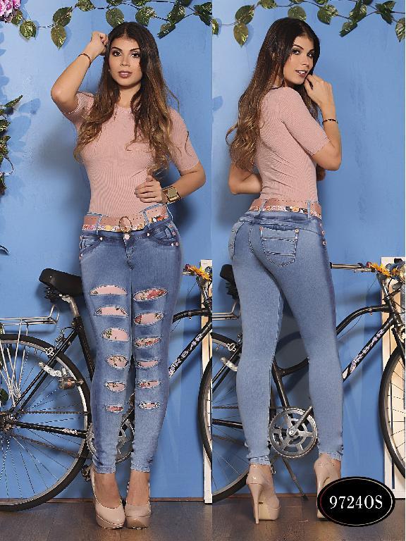 Jeans Levantacola Colombiano Osheas  - Ref. 103 -9724 OS