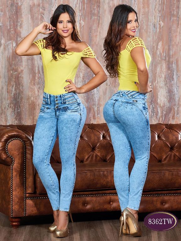 Jeans Levantacola Colombiano Top Women  - Ref. 123 -8362 TW