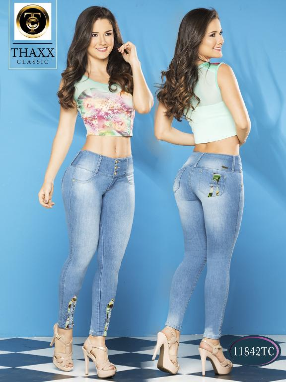 Jeans LevantaCola Colombiano Thaxx Classic - Ref. 119 -11842TC