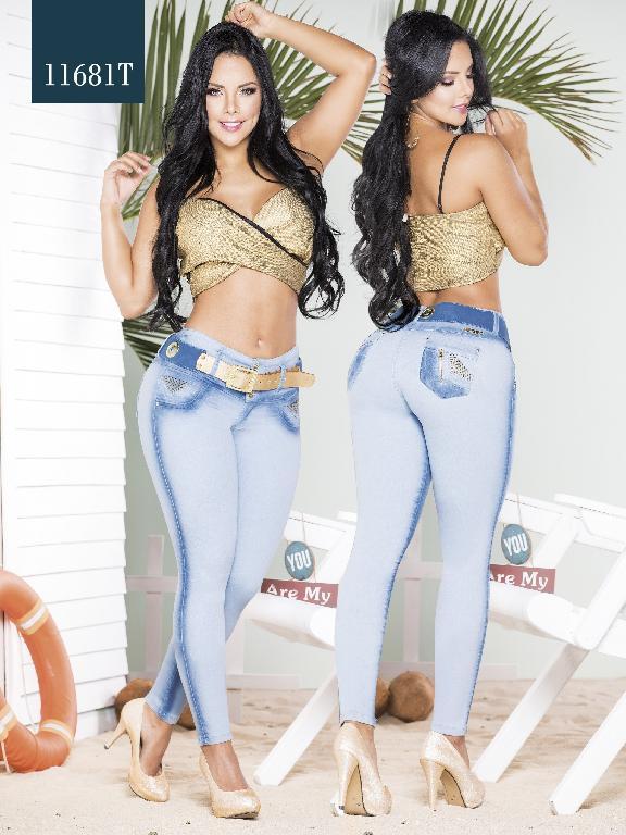 Jeans Levantacola Colombiano Tabbachi  - Ref. 101 -11681 T