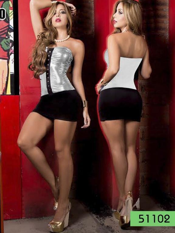 Vestido Moda Thaxx - Ref. 150 -5110