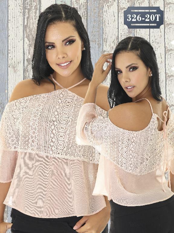 Blusas Moda Colombiana Tabbachi - Ref. 236 -326-20 Rosado