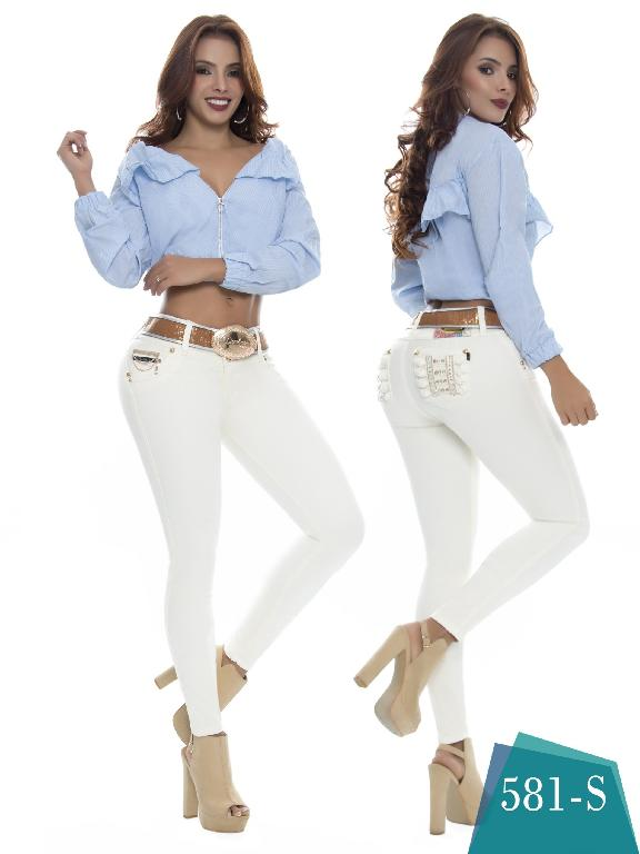 Jeans Levantacola Colombiano Duchess - Ref. 237 -581 S