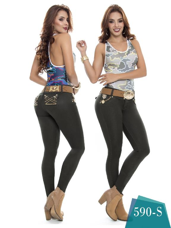 Jeans Levantacola Colombiano Duchess - Ref. 237 -590 S