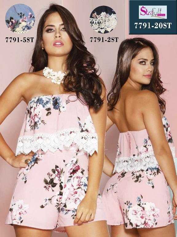 Blusa Moda Colombiana Stafull  - Ref. 247 -7791-2 ST Negro