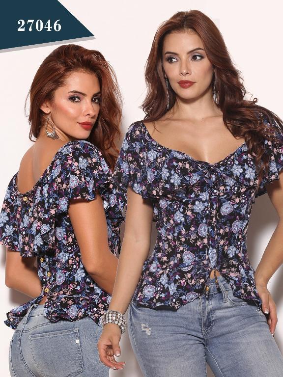 Blusa Moda Colombiano Cereza - Ref. 111 -27046
