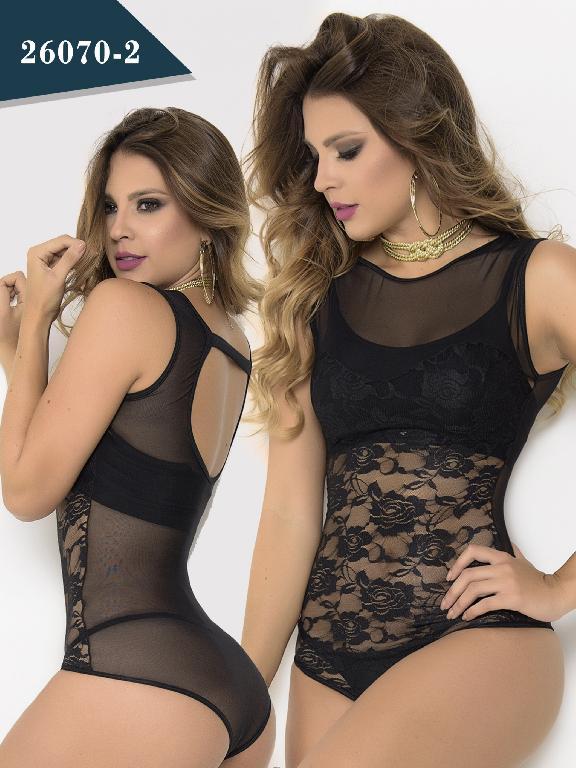 Body Moda Colombiano Cereza - Ref. 111 -26070-2 Negro