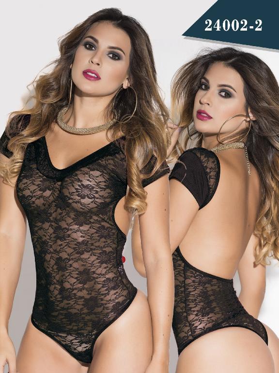 Body Moda Colombiano Cereza - Ref. 111 -24002-2 Negro