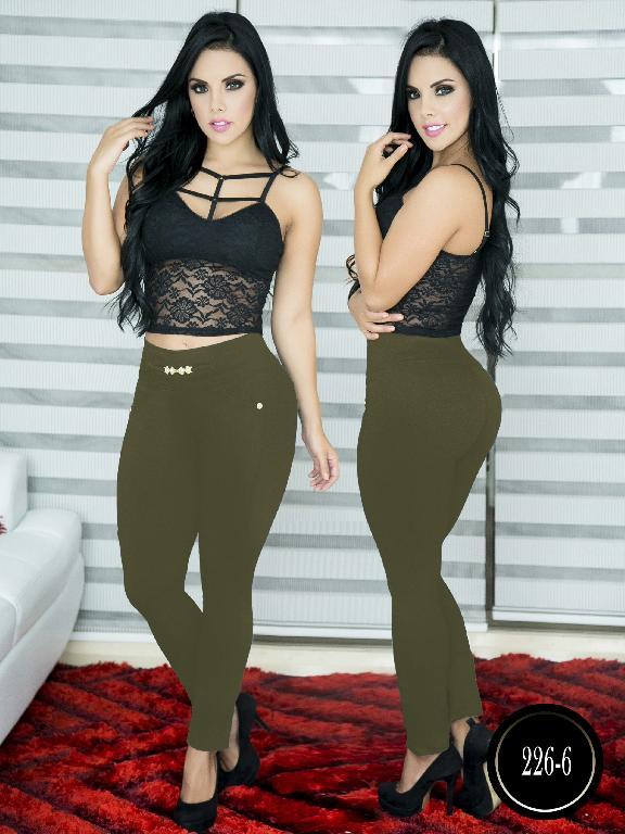 Pantalon Casual Comfort Thaxx - Ref. 119 -226-6 Verde