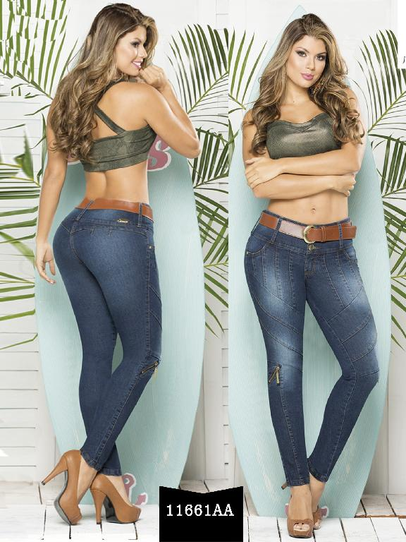 Colombian Butt lifting Jeans - Ref. 235 -11661 AA