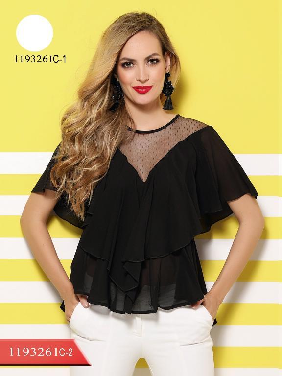Blusa Moda Colombiana Colors - Ref. 254 -1193261C-1 Blanco
