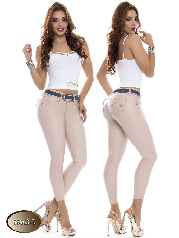 Jeans Levantacola Colombiano Do Jeans  - Ref. 248 -55963 D
