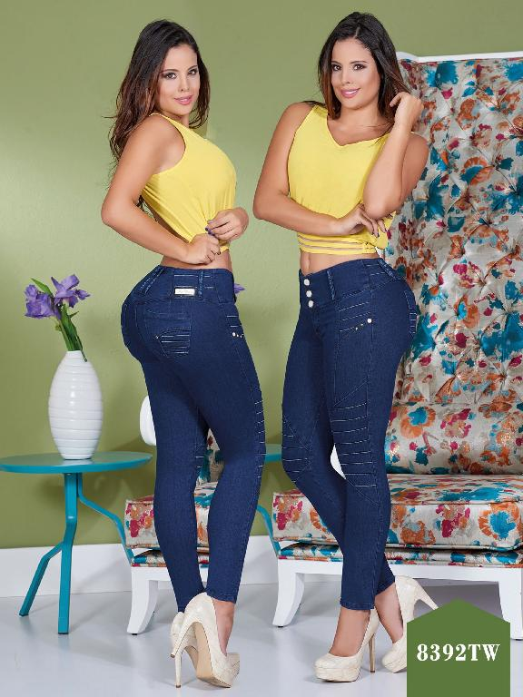 Jeans Levantacola Colombiano Top Women  - Ref. 123 -8392 TW