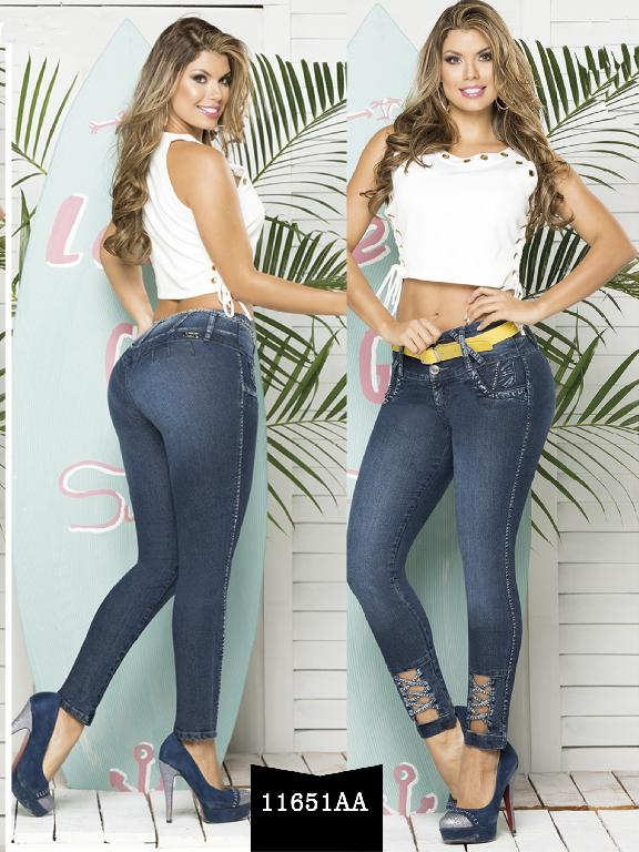 Colombian Butt lifting Jeans - Ref. 235 -11651 AA