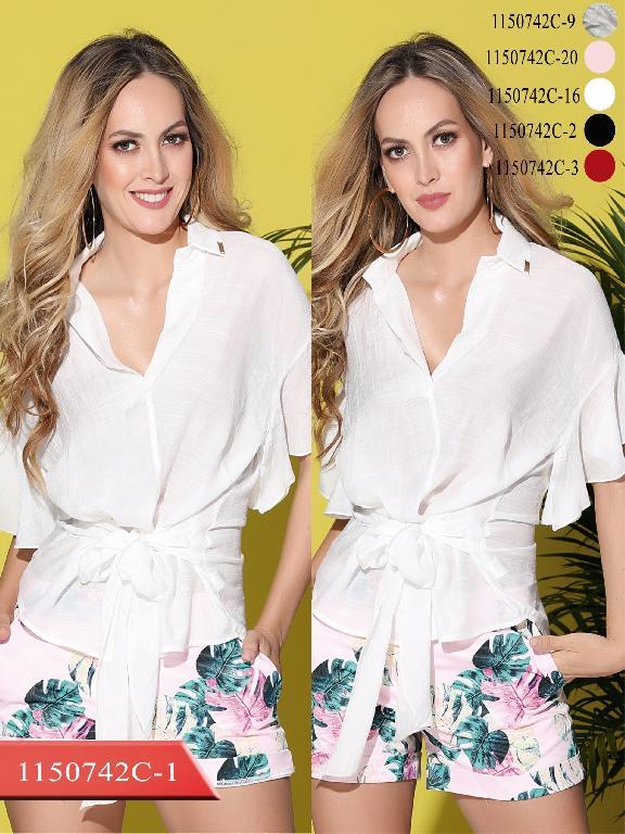 Blusa Moda Colombiana Colors - Ref. 254 -1150742C-20 Rosado