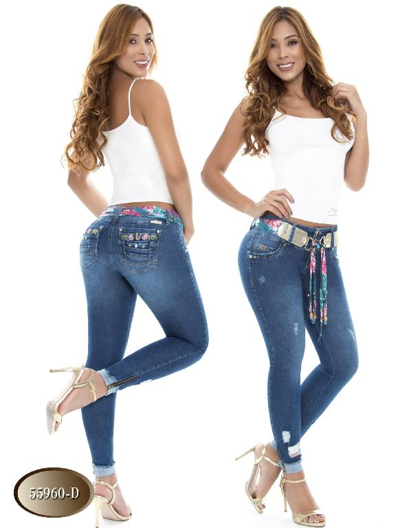 Jeans Levantacola Colombiano Do Jeans - Ref. 248 -55960 D