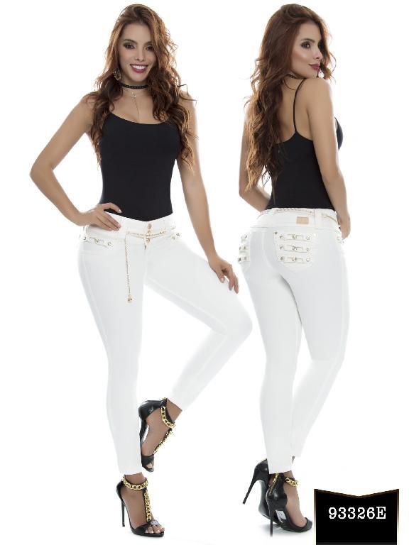 Jeans Levantacola Colombiano Ene2 - Ref. 243 -93326 E