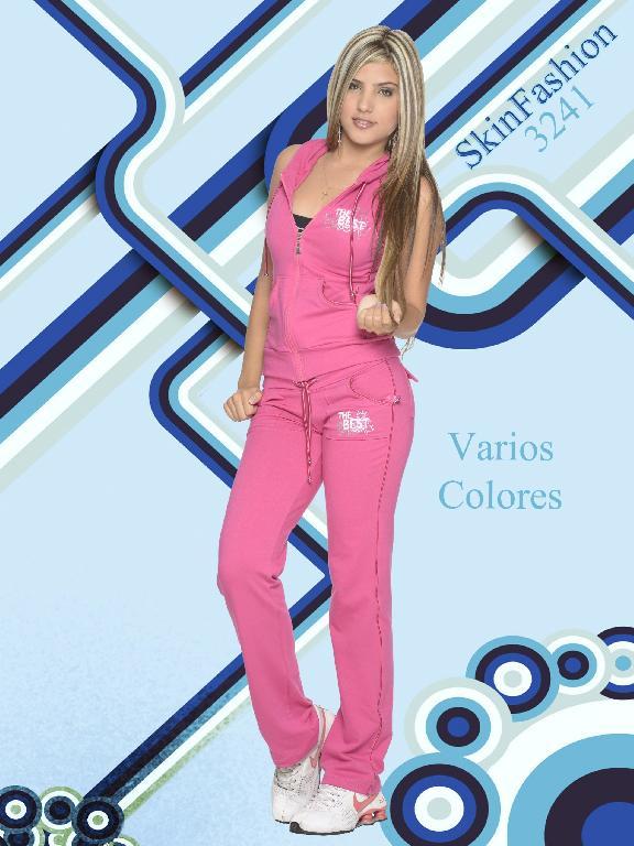 Conjunto Deportivo Skin Fashion - Ref. 118 -3241