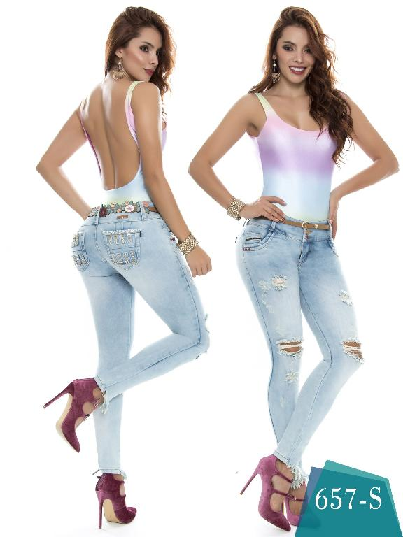 Jeans Levantacola Colombiano Duches  - Ref. 237 -657 S